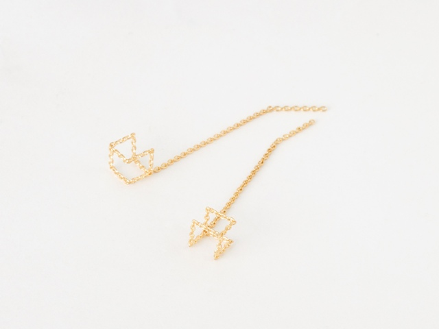 chain pierce 04s long / shihara